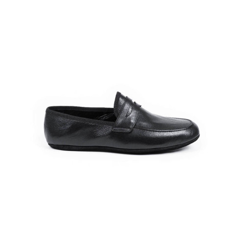 "Indoor loafers Line Loup ""Roby"" black for men"