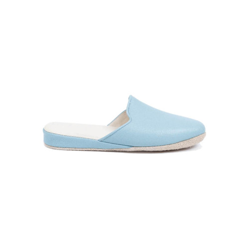 "Indoor mules Line Loup ""Linette"" light blue for women"