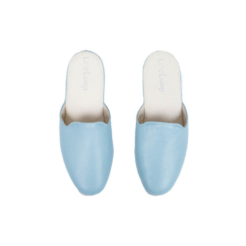 Achat Indoor mules Line Loup Linette light blue for women - Jacques-loup