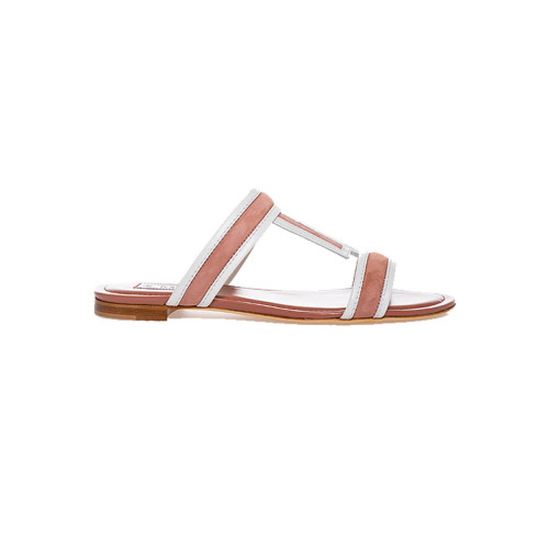 Achat Slippers Tod's antique pink and ivory for women - Jacques-loup
