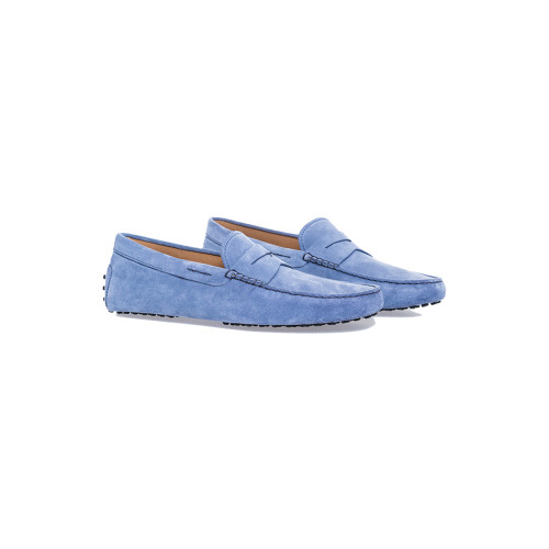 Achat Bleu jean moccasins with penny strap Tod's for men - Jacques-loup