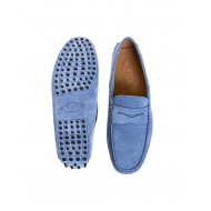 Bleu jean moccasins with penny strap Tod's for men