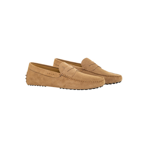 Achat Taupe colored moccasins with penny strap Tod's for men - Jacques-loup