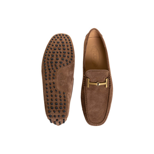 Achat Moccasins Tod's brown with metallic strap for men - Jacques-loup
