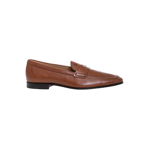Moccasins Tod's patina brown with penny strap for men