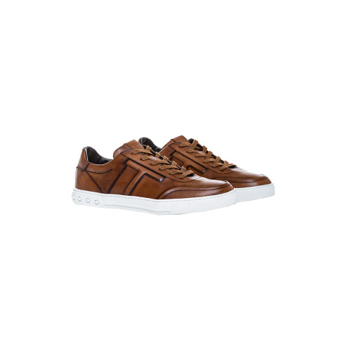 "Sneakers Tod's ""Nuovo Cassetto Sportivo"" cognac color for men"