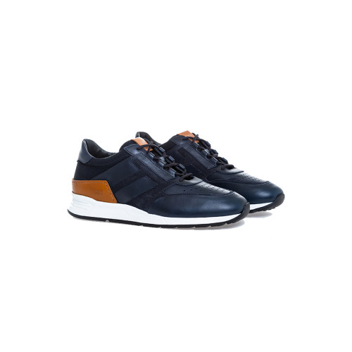 Achat Sneakers Tod's Sportivo Luxury navy blue/cognac for men - Jacques-loup