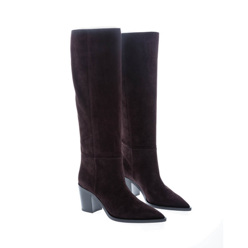 Achat Suede high boots Texan style 70 - Jacques-loup