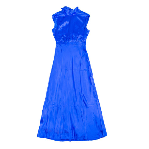 Achat Fleur Silk long dress back opening - Jacques-loup