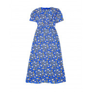 Achat Bianca Silk dress with floral print - Jacques-loup