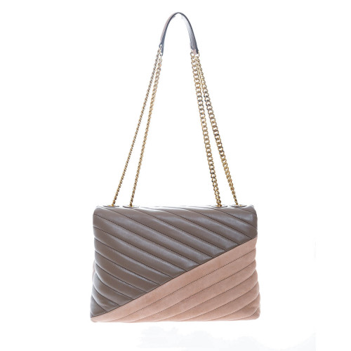 Achat Keira Leather and suede quilted bag patchwork - Jacques-loup