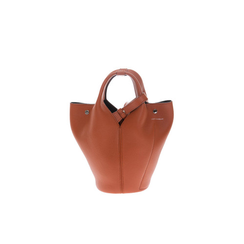 Achat Diana D Leather bucket bag with 2 handles - Jacques-loup
