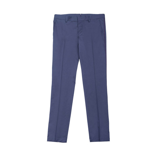 Achat Cotton trousers with bordeaux strip - Jacques-loup