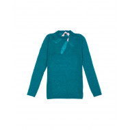 Long-sleeved green sweater N°21 for women