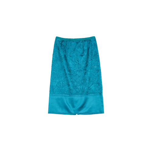 Green skirt N°21 for women