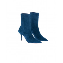 """""""Saint Honoré"""" Suede boots with pointed tip 85"""