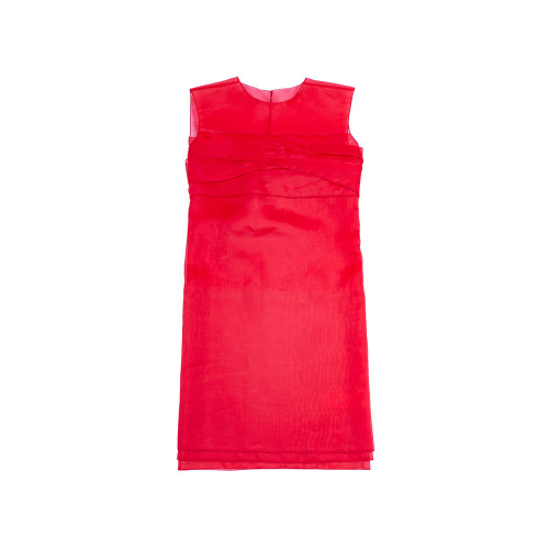 Achat Sleeveless red draped dress N°21 for women - Jacques-loup