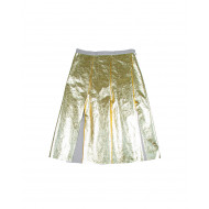 Reversible gold skirt N°21 for women