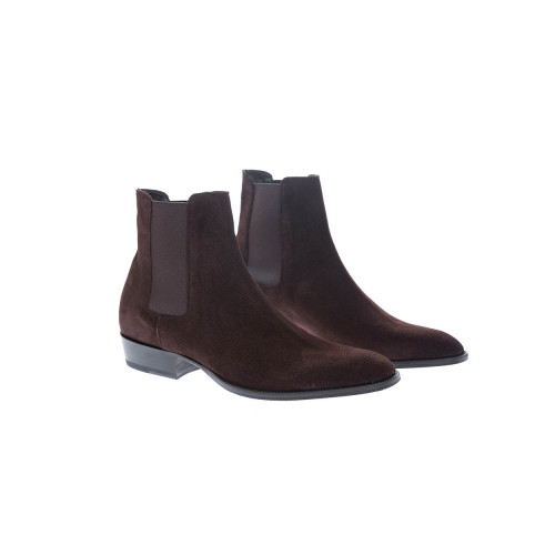 Achat Split leather boots with... - Jacques-loup