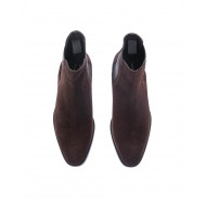 Split leather boots with...