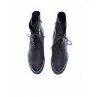 Achat Leather boots with laces... - Jacques-loup