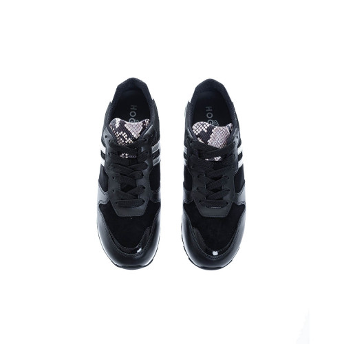 Achat  Running 261 Leather sneakers with python print - Jacques-loup