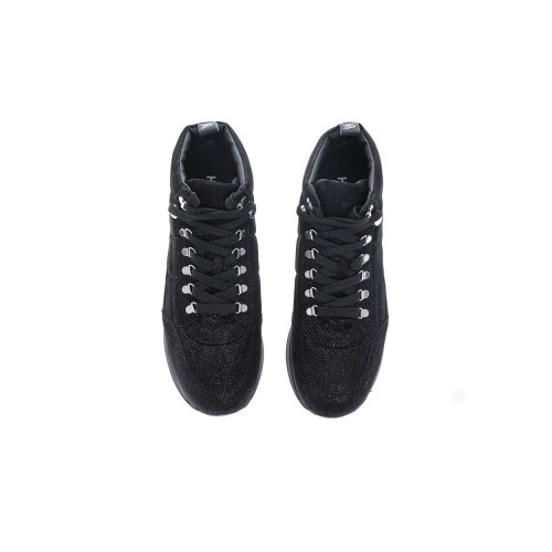 Achat 222 Leather high-top sneakers with flakes - Jacques-loup