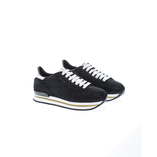 Achat 222 Leather low-top sneakers with flakes - Jacques-loup