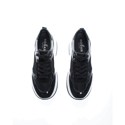 Achat Maxi I Active Tissu and leather sneakers with patent parts - Jacques-loup