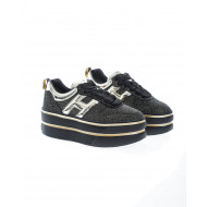 """H449"" Leather sneakers platform sole 60"