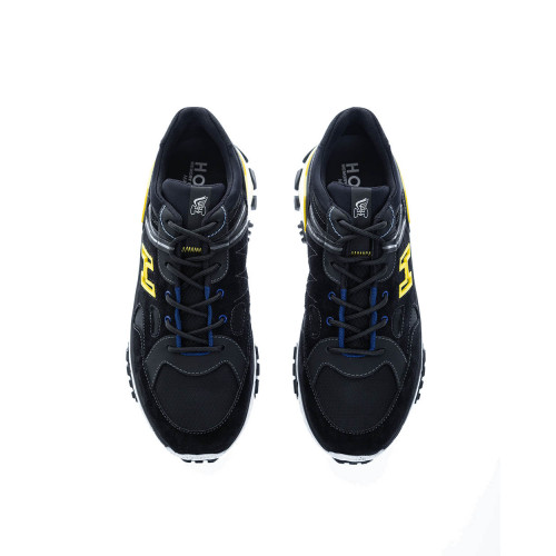 Achat New Trekking Split leather and nylon sneakers with slide lacing - Jacques-loup