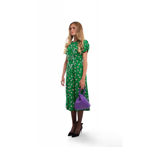 Achat Silk dress decorated with sequins and stones - Jacques-loup