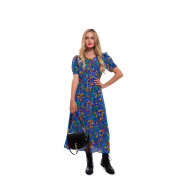 Achat Léa Silk dress foliage print - Jacques-loup