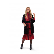 Achat 3/4 sleeves oversized cardigan with V-neck - Jacques-loup