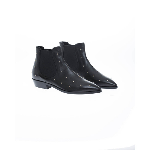 Achat Leather boots Texane style... - Jacques-loup