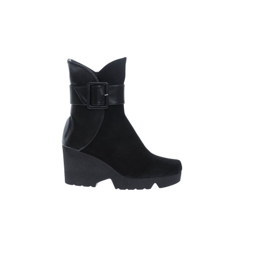 Achat Leather and suede boots... - Jacques-loup