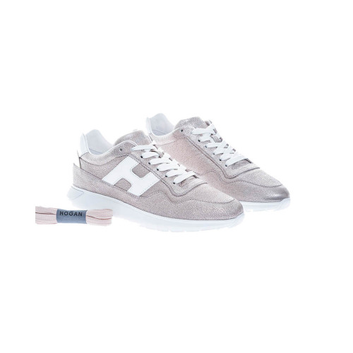 Achat I-Cube Leather low-top sneakers with glitter - Jacques-loup