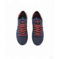 Achat Tropez Lu Split leather sneakers escutcheon rusty border - Jacques-loup