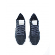 Achat Tropez X Two-material sneakers escutcheon with white border - Jacques-loup