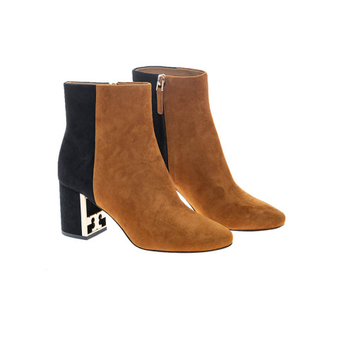 Achat Gigi Boot Suede boots with round tip 70 - Jacques-loup