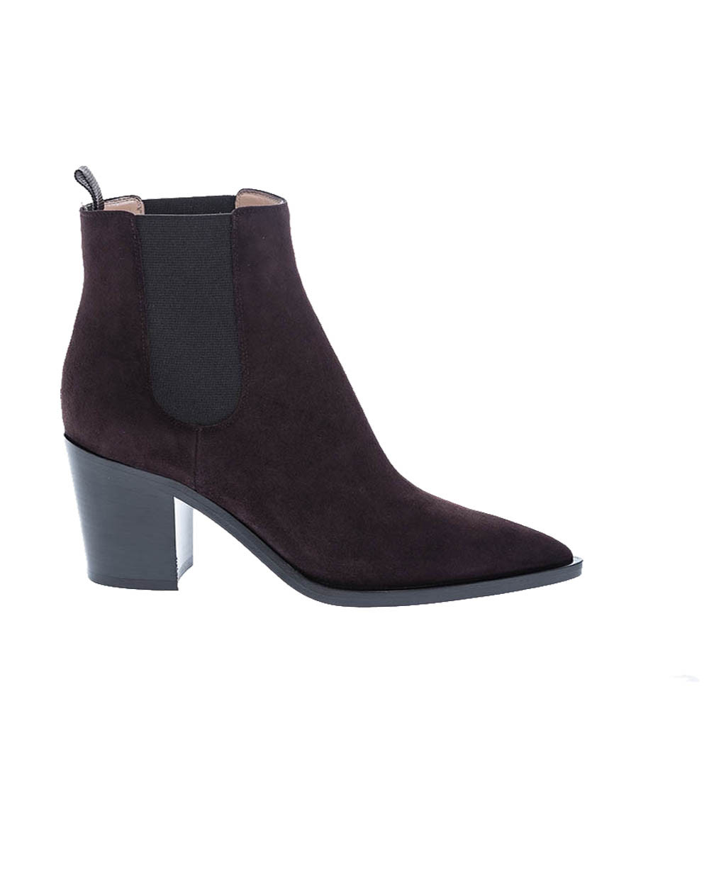 Suede boots Texan style 70