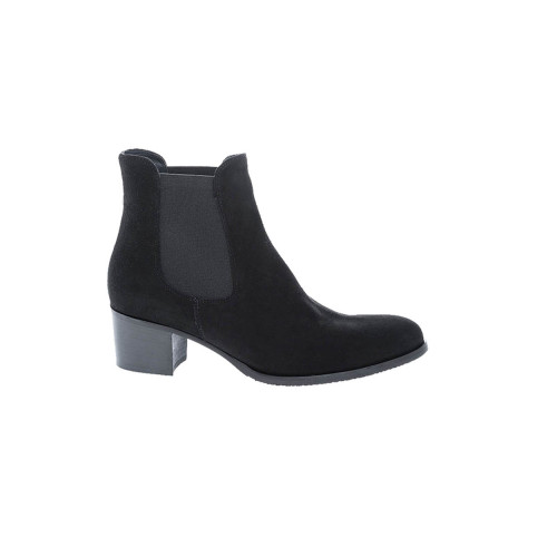 Achat Leather boots with 2 elastics rounded tip 50 - Jacques-loup