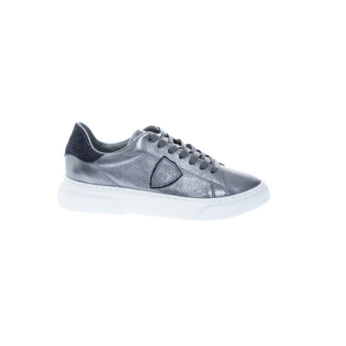 Achat Temple Grained leather sneakers buttress in glitter - Jacques-loup