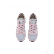"""Tropez"" Multicolored sneakers with escutcheon"