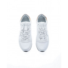 """""""Tropez LD West"""" Leather sneakers with stamped laces"""