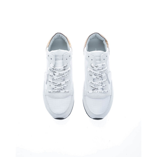 """Tropez LD West"" Leather sneakers with stamped laces"