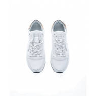 Achat Tropez LD West Leather sneakers with stamped laces - Jacques-loup