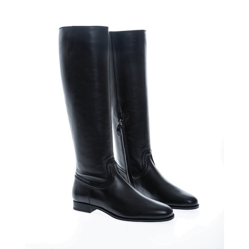 """Stivale Selleria"" Calf leather riding boots"