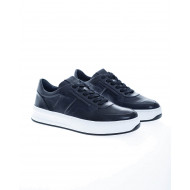 """""""New Cassetta"""" Patina leather sneakers"""