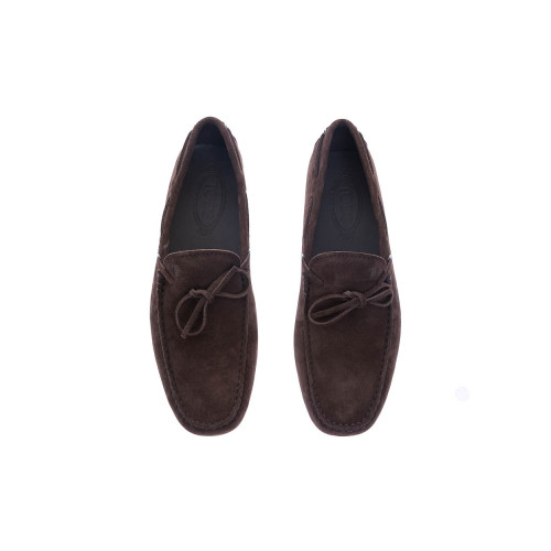 Achat Gomini Laccetto Split leather moccasins knotted laces - Jacques-loup